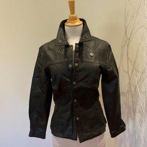 SMALL Harley-Davidson Leather shirt jacket